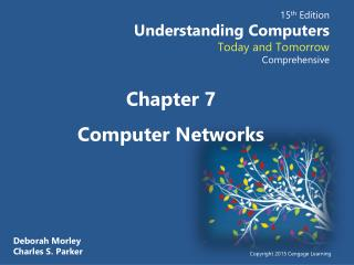 Chapter  7 Computer Networks