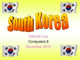 Hannah Lee Computers 8 December 2010