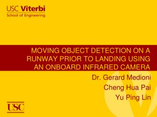 MOVING OBJECT DETECTION ON A RUNWAY PRIOR TO LANDING USING AN ONBOARD INFRARED CAMERA