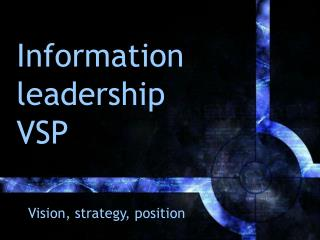 Information leadership VSP