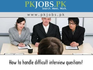 How to handle difficult interview questions