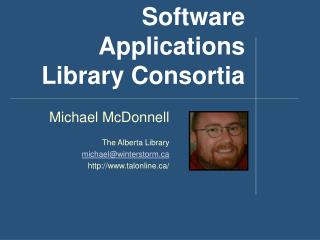 Software Applications Library Consortia