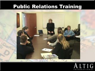 Public Relations Training
