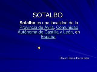SOTALBO