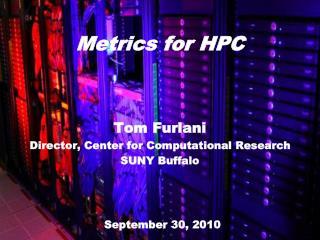 Metrics for HPC