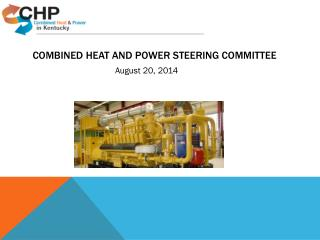 Combined Heat and Power Steering Committee