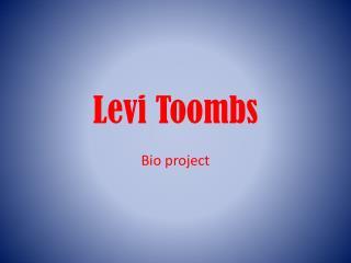 Levi Toombs