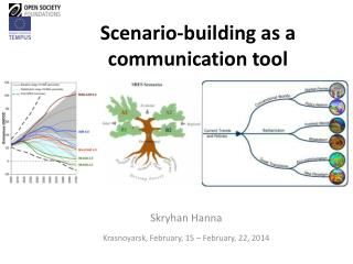 Scenario-building as a communication tool