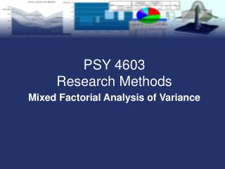Mixed Factorial Analysis of Variance