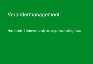 Verandermanagement