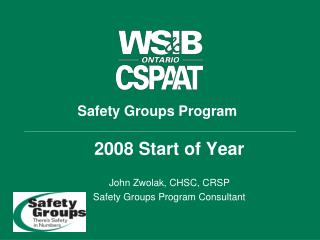 Safety Groups Program
