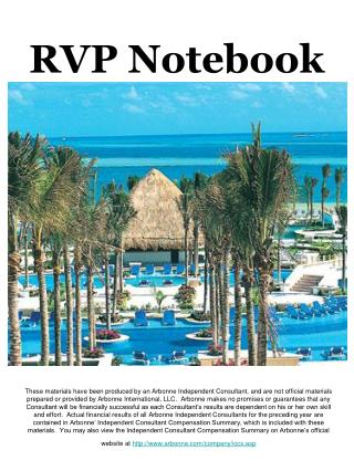 RVP Notebook