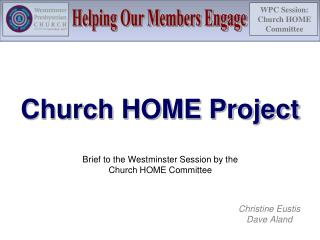 Church HOME Project