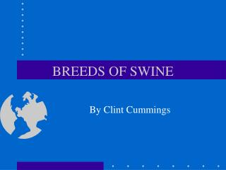 BREEDS OF SWINE