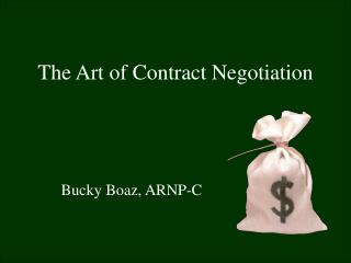 The Art of Contract Negotiation