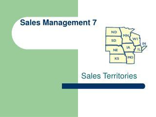 Sales Management 7