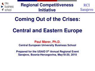 Regional Competitiveness Initiative
