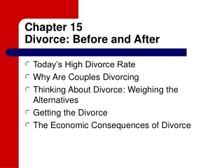 Children of Divorce: