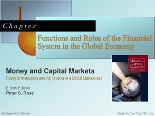 Functions and Roles of the Financial System in the Global Economy