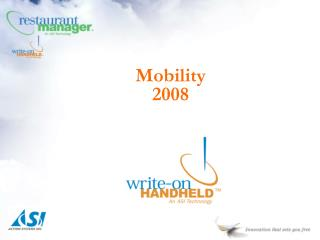 Mobility 2008