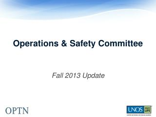 Operations & Safety Committee