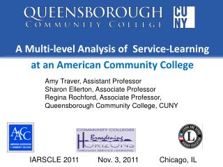 A Multi-level Analysis of  Service-Learning  at an American Community College