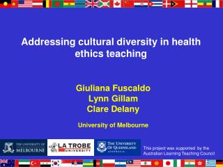 Addressing cultural diversity in health ethics teaching