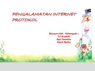 Pengalamatan Internet Protokol