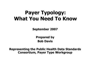 Payer Typology: What You Need To Know