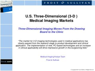 Medical Imaging Analyst Team Frost & Sullivan