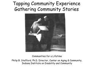 Tapping Community Experience Gathering Community Stories