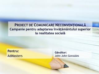 Gânditor : John John Gonzales