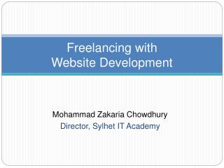 Freelancing with Website Development