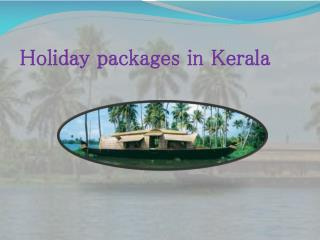 Holiday packages in Kerala