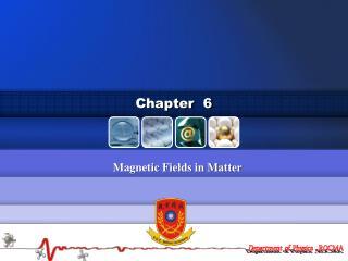 Magnetic Fields in Matter