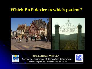Which PAP device to which patient?