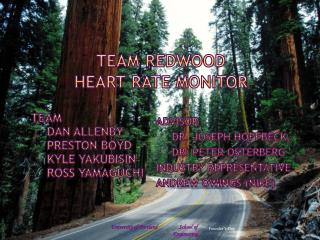 Team Redwood Heart Rate Monitor