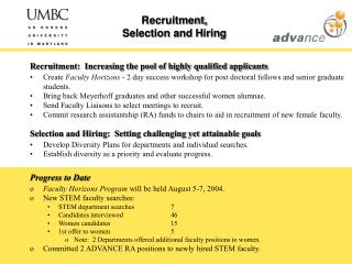 Recruitment, Selection and Hiring