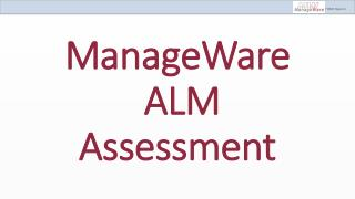ManageWare  ALM Assessment