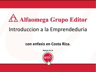 Introduccion a la Emprendeduria
