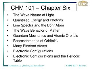 CHM 101 – Chapter Six