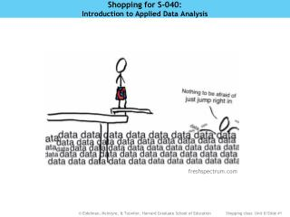 Shopping for S-040:  Introduction to Applied Data Analysis