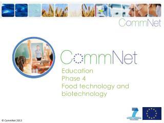 Education Phase 4 Food technology and biotechnology