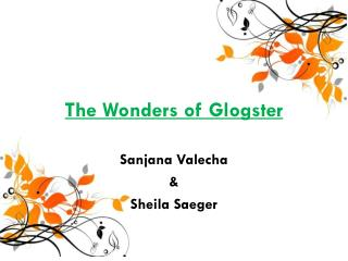 The Wonders of Glogster