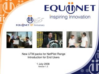New UTM packs for NetPilot Range Introduction for End Users