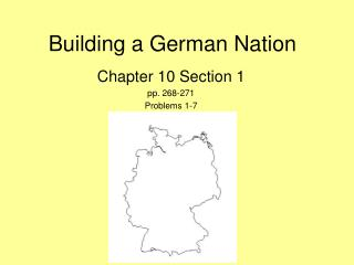 Building a German Nation