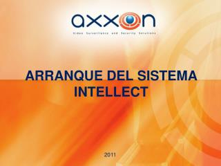 ARRANQUE DEL SISTEMA INTELLECT
