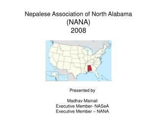 Nepalese Association of North Alabama  (NANA) 2008