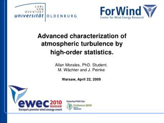 Advanced characterization of atmospheric turbulence by  high-order statistics.