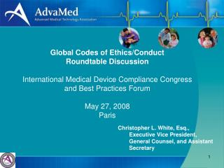 Global Codes of Ethics/Conduct  Roundtable Discussion